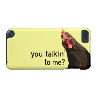 Funny Attitude Chicke - You Talkin' To Me? iPod Touch (5th Generation) Case