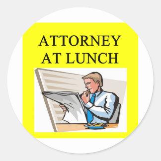 funny attorney lawyer joke stickers