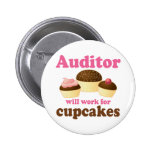 Funny Auditor 6 Cm Round Badge