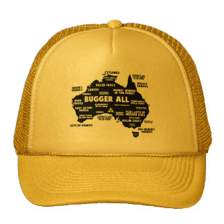 Funny Australia Mesh Hats