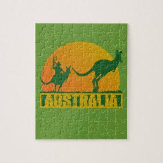 Funny Australia Jigsaw Puzzle