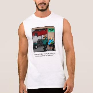 Funny Auto Mechanic Humor Muscle Shirt