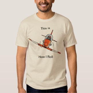 Funny Aviation Cartoon Shirt