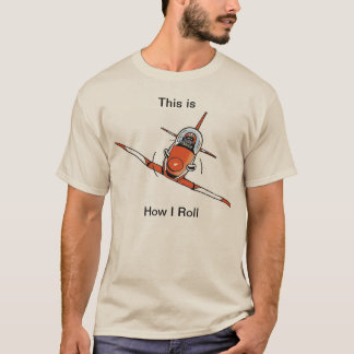 Funny Aviation Cartoon Shirt