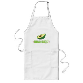 Funny Avocado Long Apron