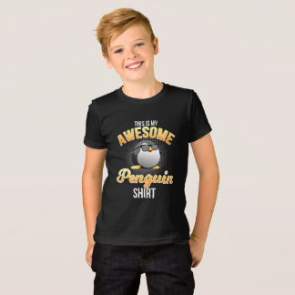 Funny Awesome Penguin Shirt
