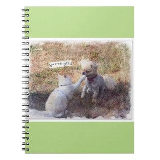 Funny B**** Plz notebook