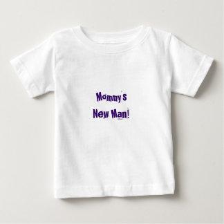 Funny baby boy shirt ~ Mummy's New Man!