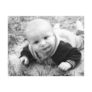 Funny Baby Canvas Print