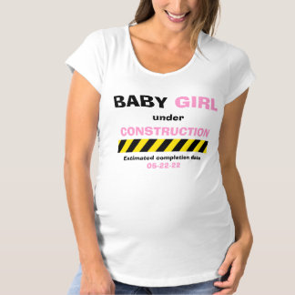 Funny Baby Girl Maternity Pregnancy Women T Shirt