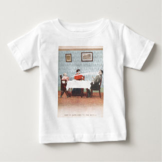 Funny Baby Seltzer Bottle Vintage Father's Day Baby T-Shirt