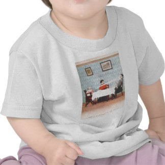 Funny Baby Seltzer Bottle Vintage Father's Day T-shirt