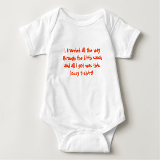 Funny baby t-shirt infant shirt baby shower gift