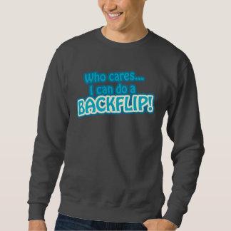 Funny Backflip Quote Sweatshirt