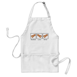 Funny Bacon for Breakfast, Lunch and Dinner Standard Apron