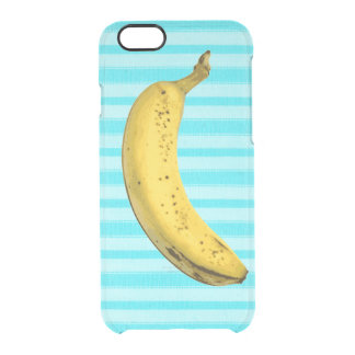 Funny banana clear iPhone 6/6S case
