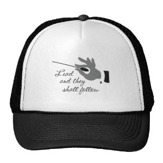 Funny Band Director Gifts Mesh Hats