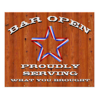 Funny Bar Sign for Man Cave