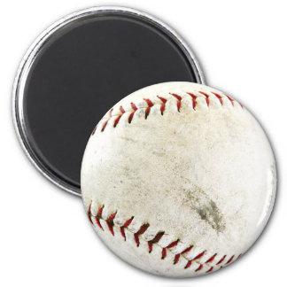 Funny Baseball Photo Magnet