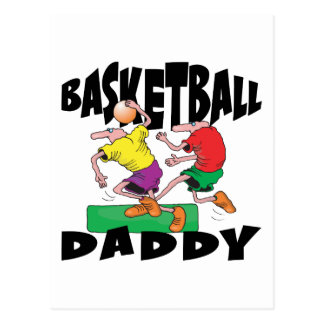 Funny Basketball Dad Father s Day Post Cards