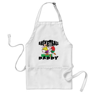 Funny Basketball Dad Father's Day Aprons