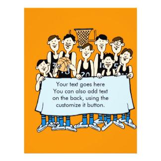 Funny Basketball team event Flyer Design