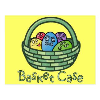Funny Basketcase Easter Post Card