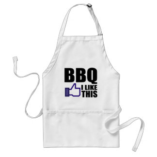 Funny BBQ Saying Standard Apron
