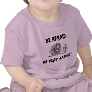 Funny Be Afraid Bowling T Shirt