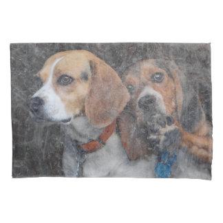Funny Beagle Dirty Storm Door Pillowcase