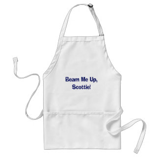Funny Beam Me Up T-shirts Gifts Standard Apron