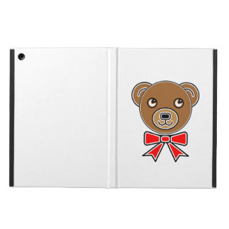 Funny bear face cover for iPad air