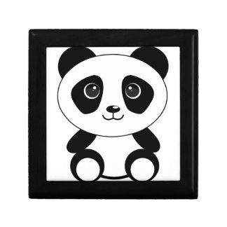 Funny bear panda bear panda animals gift box