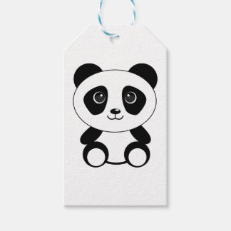Funny bear panda bear panda animals gift tags