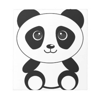 Funny bear panda bear panda animals notepad
