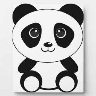 Funny bear panda bear panda animals plaque