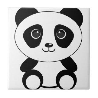 Funny bear panda bear panda animals tile