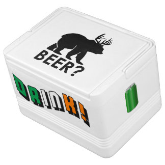 Funny Beer? and Drink! with Green Can Cooler