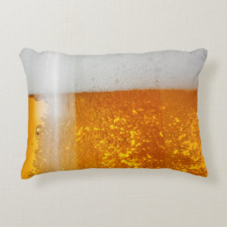 funny beer bubbles decorative cushion