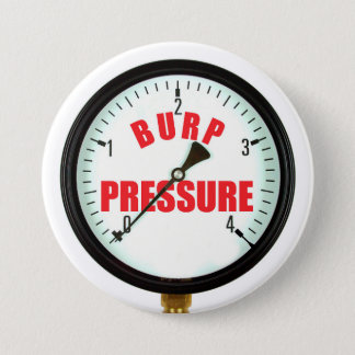 Funny Beer Burp Pressure Gauge Button
