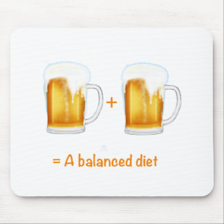 Funny Beer lovers gifts - can customise Mouse Pad