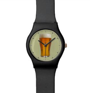 Funny beer man's watch