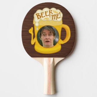 Funny Beer Me Drinking Humor | Personalized Photo Ping Pong Paddle