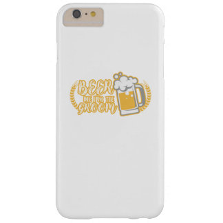 Funny BEER ME IM THE GROOM Married Gift Barely There iPhone 6 Plus Case