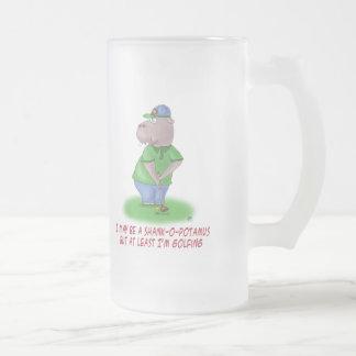 Funny Beer Mug: Shankopotamus