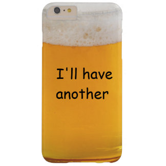 Funny Beer Novelty Barely There iPhone 6 Plus Case