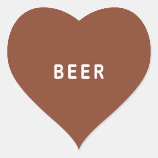 Funny beer sticker