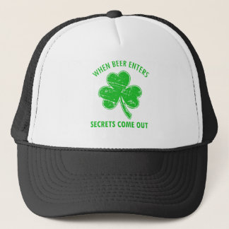 funny beer tees trucker hat