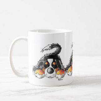 Funny Bernese Mountain Dog Cartoon Coffee Mug