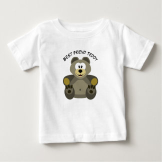 Funny Best Friend Teddy Bear Baby T-shirt
